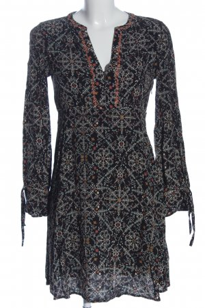 Pepe Jeans Langarmkleid Allover-Druck Casual-Look
