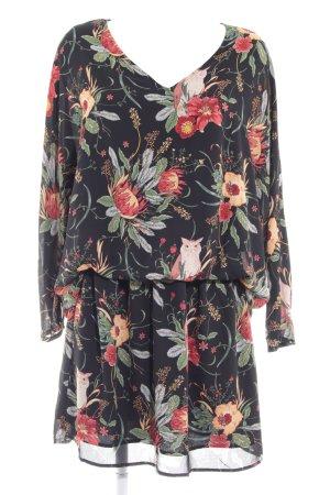 Pepe Jeans Langarmkleid florales Muster Casual-Look