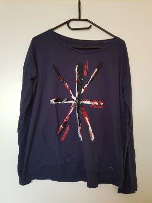 Pepe Jeans Langarmshirt Shirt Größe M Pailletten