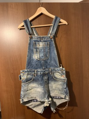 Pepe Jeans Overall donkerblauw-wit