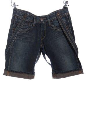 Pepe Jeans Latzjeans blau Casual-Look