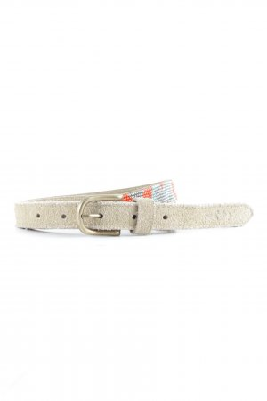 Pepe Jeans Leather Belt abstract pattern Boho look