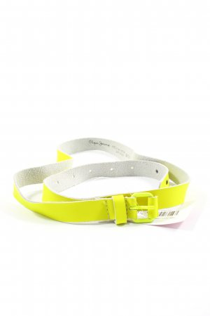 Pepe Jeans Faux Leather Belt primrose casual look