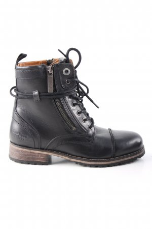 Pepe Jeans London Ankle Boots schwarz Casual-Look