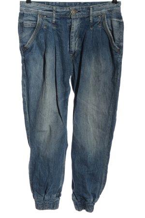 Pepe Jeans London Workowate jeansy niebieski W stylu casual