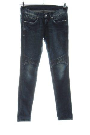 Pepe Jeans London Vaquero de motero azul look casual