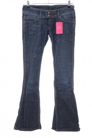 Pepe Jeans London Boot Cut Jeans blau Casual-Look