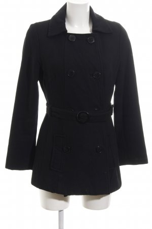 Pepe Jeans London Marynarska kurtka czarny W stylu casual