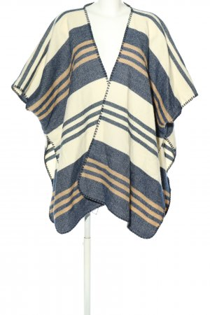 Pepe Jeans London Poncho gestippeld casual uitstraling