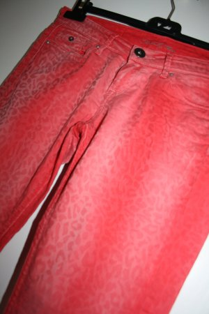 Pepe Jeans Drainpipe Trousers red-salmon