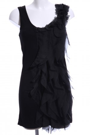 Pepe Jeans London Fransenkleid schwarz Elegant