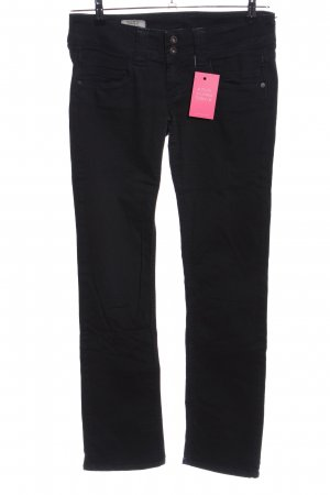 Pepe Jeans London Low-Rise Trousers black casual look