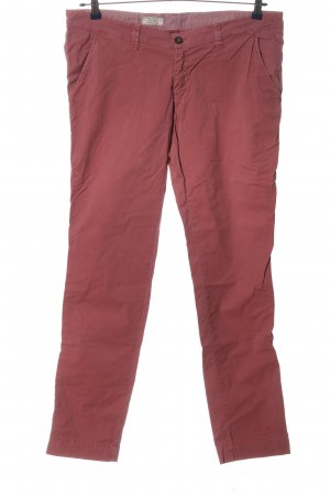 Pepe Jeans London Pantalone a vita bassa rosso stile casual