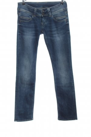Pepe Jeans London Low Rise jeans blauw casual uitstraling