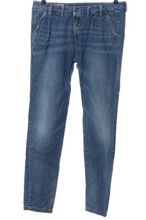 Pepe Jeans London Jeans vita bassa blu stile casual