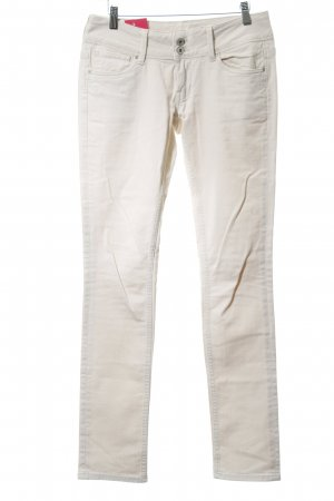 Pepe Jeans London Hüftjeans creme Casual-Look