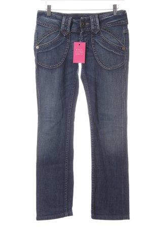 Pepe Jeans London Hüftjeans dunkelblau Jeans-Optik
