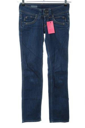 Pepe Jeans London Hüftjeans blau Casual-Look