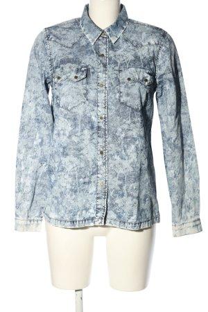 Pepe Jeans London Chemise en jean bleu style mode des rues