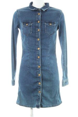 Pepe Jeans London Blusa denim multicolore Tessuto misto