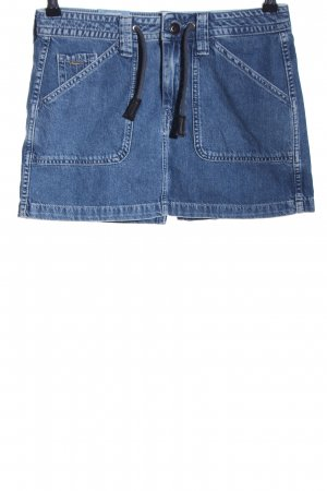 Pepe Jeans London Jeansrock blau Casual-Look