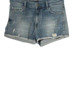 Pepe Jeans London Jeansshorts blau Casual-Look