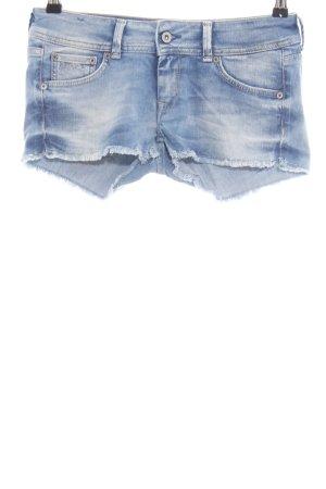 Pepe Jeans London Spijkershort blauw casual uitstraling
