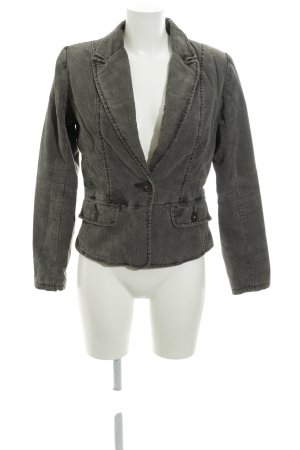 Pepe Jeans London Kurz-Blazer graubraun Casual-Look