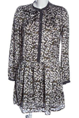 Pepe Jeans London Langarmkleid abstraktes Muster klassischer Stil
