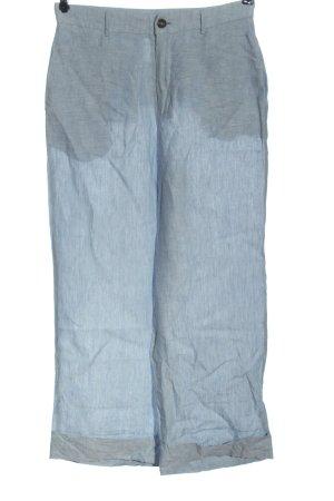 Pepe Jeans London Pantalon en lin bleu moucheté style décontracté