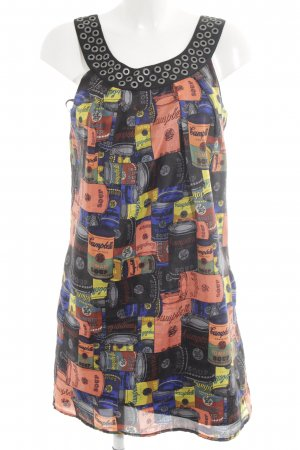 Pepe Jeans London Minikleid mehrfarbig Casual-Look
