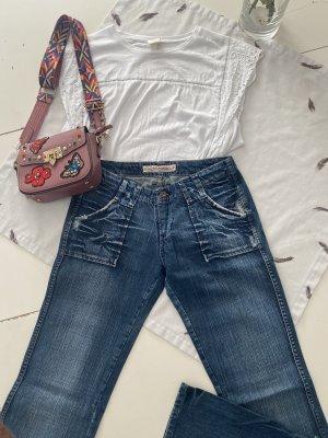 Pepe Jeans Jeansy z prostymi nogawkami Wielokolorowy
