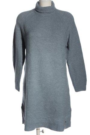 Pepe Jeans London Pulloverkleid blau meliert Casual-Look