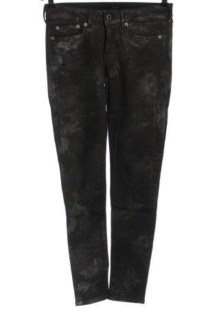 Pepe Jeans London Jeans a sigaretta nero-grigio chiaro stile casual