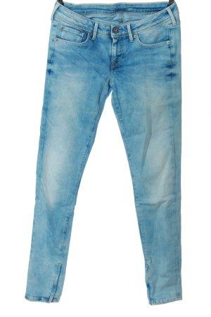 Pepe Jeans London Röhrenjeans blau Casual-Look