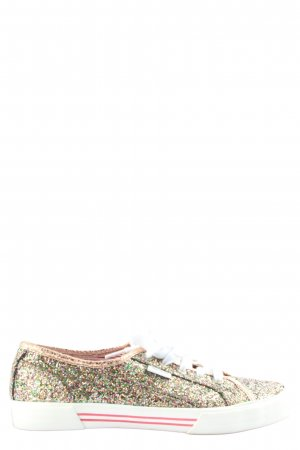 Pepe Jeans London Schnürsneaker Allover-Druck Casual-Look