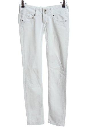 Pepe Jeans London Skinny Jeans weiß Casual-Look