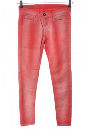 Pepe Jeans London Skinny Jeans rot Allover-Druck Casual-Look