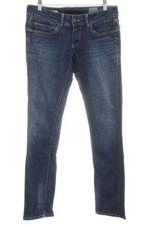 Pepe Jeans London Slim Jeans dunkelblau Casual-Look