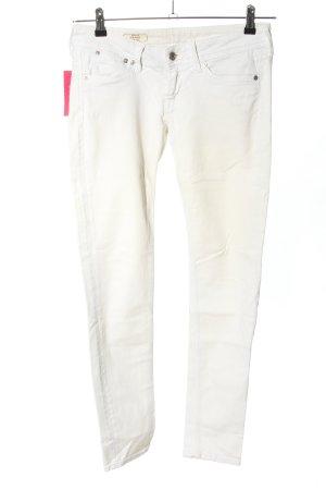 Pepe Jeans London Slim Jeans weiß Casual-Look