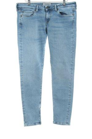 Pepe Jeans London Slim Jeans himmelblau Washed-Optik