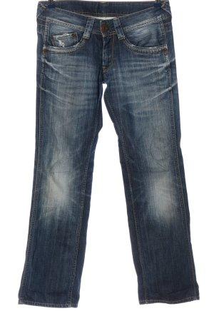 Pepe Jeans London Straight-Leg Jeans blau Casual-Look