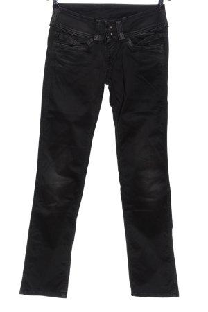 Pepe Jeans London Jeansy z prostymi nogawkami czarny W stylu casual