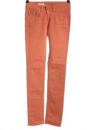 Pepe Jeans London Jeansy z prostymi nogawkami jasny pomarańczowy W stylu casual