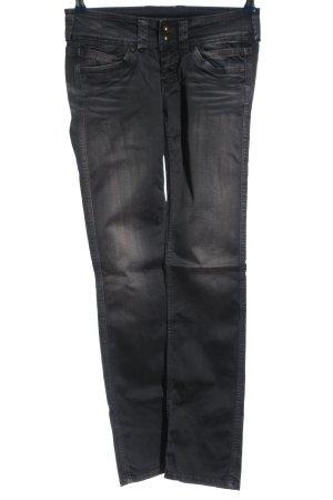 Pepe Jeans London Straight-Leg Jeans hellgrau Casual-Look