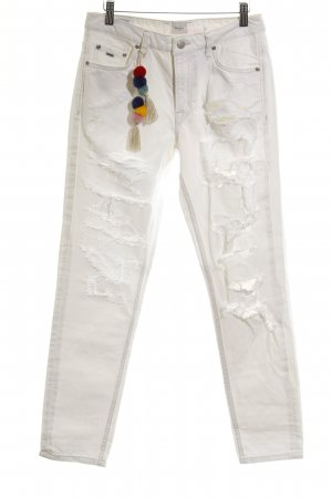 Pepe Jeans London Straight-Leg Jeans weiß Casual-Look