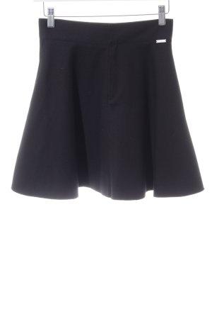 Pepe Jeans London Cirkelrok zwart zakelijke stijl