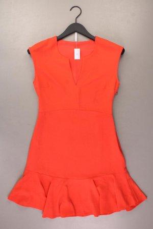 Pepe Jeans Midikleid Größe XS Ärmellos orange aus Polyester