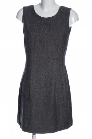 Pepe Jeans Minikleid hellgrau Webmuster Business-Look