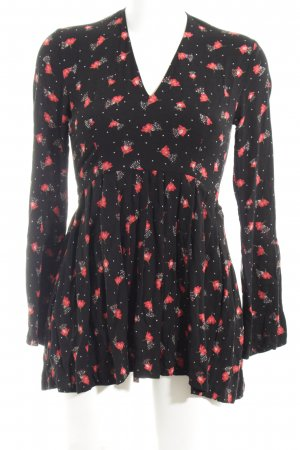 Pepe Jeans Minikleid Allover-Druck Casual-Look